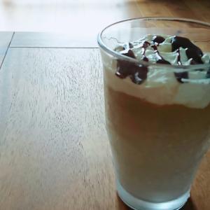 家にあるものでカフェ風カフェオレ