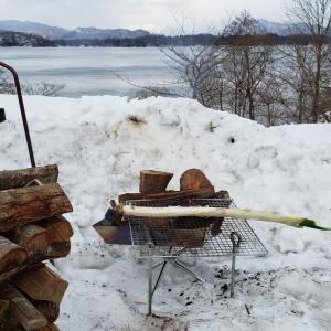 雪中キャンプにチャレンジ3