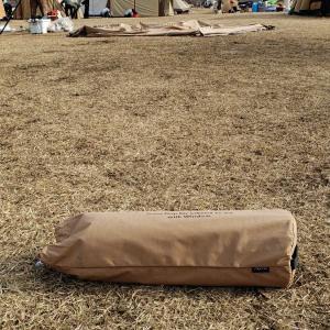 年越しキャンプ1(サーカスTC フロントフラップ試し張り)