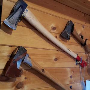 薪割り斧の更新(グレンスフォシュ442)