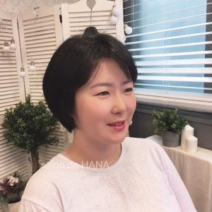 子供の100日記念の撮影のために!韓国ソウル ヘアメイクサロン salon de HANA