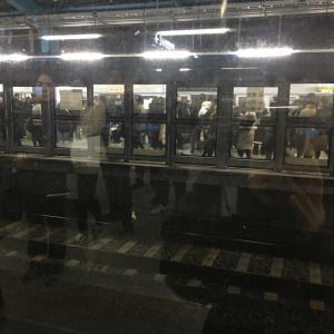 昨日から地下鉄、鉄道のストライキ…