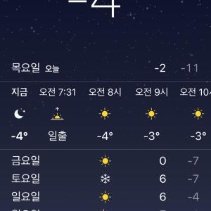 ついにきました…最高気温までも零下の日が…
