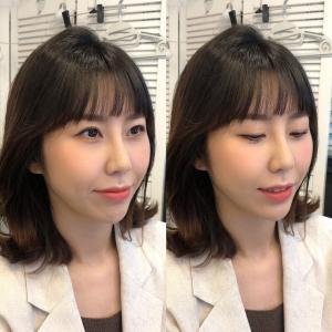 今の韓国ヘアメイク♡
