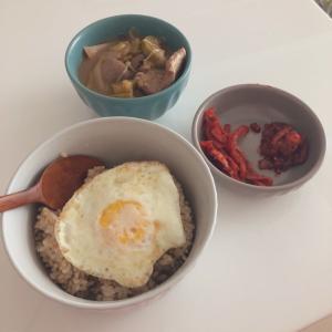 韓国在住の私のリアルなお昼ご飯