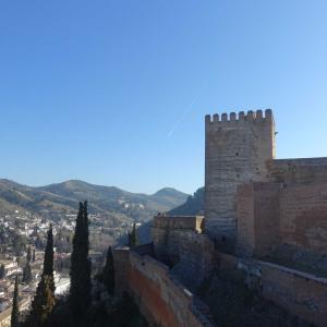 スペイン旅⑥ アルハンブラ宮殿 アルカサバからヘネラリフェへ