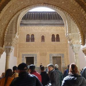 スペイン旅⑦ アルハンブラ宮殿  ナスル朝宮殿