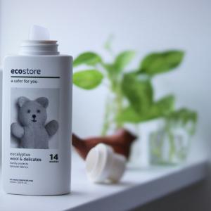 癒されるエコストアの洗剤ボトル