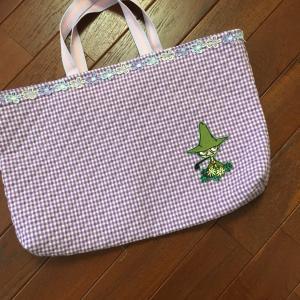 教室移動のためのバッグ