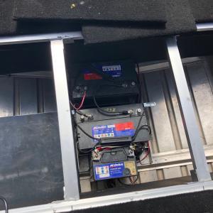 ボートデッキ下の収納スペースを改良♪