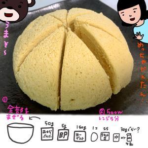 おから蒸しパン(糖質制限メニュー)
