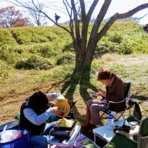 母とデイキャンプ