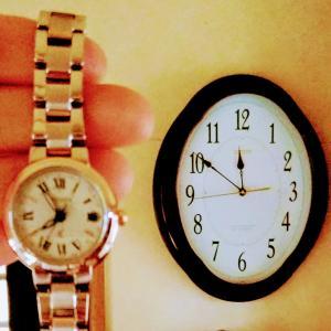 送盆 おじいさんの時計