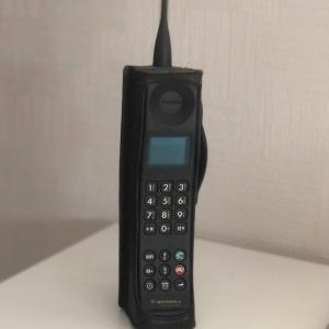 世界最初の携帯電話