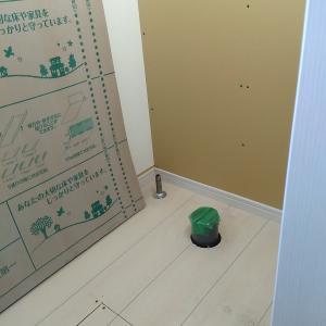 2階にトイレを新設します ♯2
