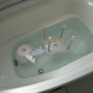 お風呂の大掃除 第一弾