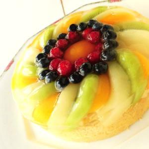 夏のゼリーケーキ