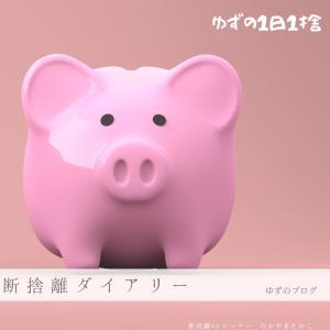 お財布の厚みは、お金の不安の大きさ?|断捨離ダイアリー1285日め