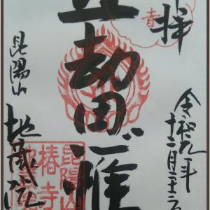 京都市 北区 椿寺【地蔵院】参拝・御朱印拝受