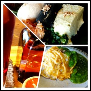 自家製三色豆腐が本気で美味しい! ランチも赤黄緑と三色なオムライスは五穀米の優しい味わい まるさん&わっか(marusan&wacca) 東京都世田谷区北沢2-8-5 ANビル3F