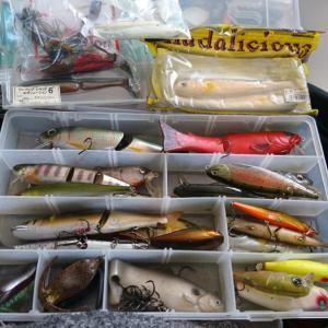 今年のバス釣りの準備をしてみた。