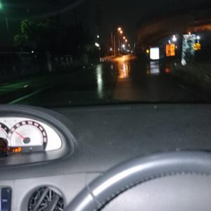【名古屋港】雨に降られシーバス。