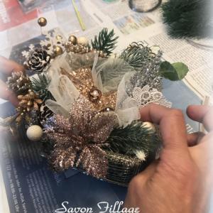 サヴォンフィラージュ・クリスマスレッスンおまけもお楽しみいただきました