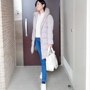 一泊家族旅行ママコーデは万能GUダウンコート×cocaセーターで☆旅行コーデでの「優先ポイント」