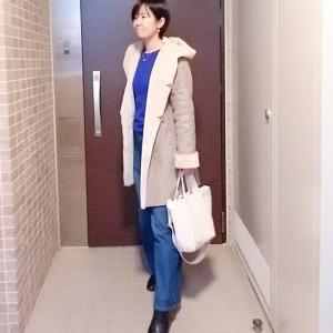 H&M華やかニットでおうちお仕事コーデ☆