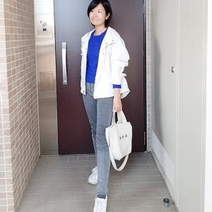 GUマウンテンパーカーで春のお散歩コーデ☆