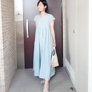 洗濯機で洗える人気ワンピースでプチプラコーデ☆手抜きに見えない服の色の選び方☆