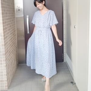 病み上がりにもぴったりGU花柄ワンピース☆服は自分のバロメーター☆