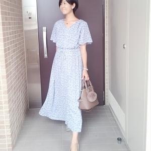 お気に入りGUワンピで季節の変わり目コーデ☆服装に簡単に秋らしさをプラスする方法☆