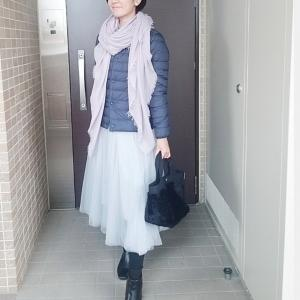オシャレに着るのは難しいUNIQLOダウンをアレンジしたお出かけコーデ