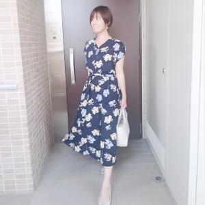花柄ワンピースで大人かわいいお出かけコーデ☆カフェからまさかの…!