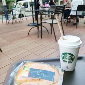 リゾート風ワンピースで朝のカフェコーデ☆