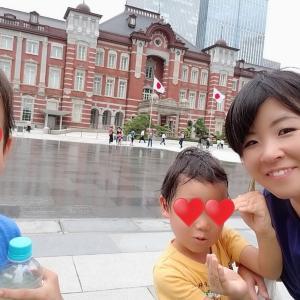 大好きな東京駅へ息子たちとお出かけ☆新幹線好き男の子のママならではの訪問スポット☆