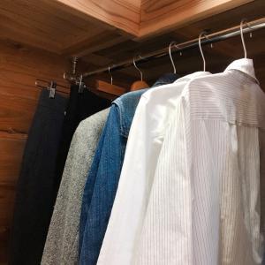 クローゼットは服がゆっくり休む空間