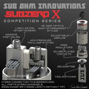 450円。SZX Competition RDA by Sub Ohm Innovations