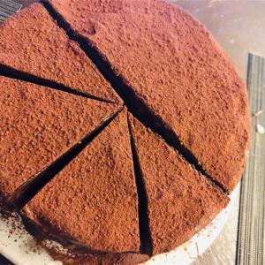 チョコレートケーキ(失敗の巻)