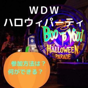 【WDW】フロリダ ディズニーワールドのハロウィンパーティー レポート