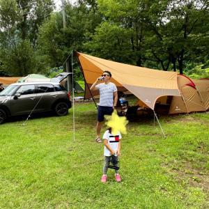 人生はじめてのキャンプ