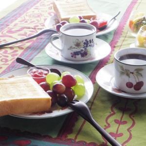 秋の実りの朝ごはん