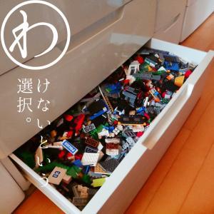 【子どもと暮らし】レゴと収納を見直した中1息子。向き合って出した『1つの答え』。