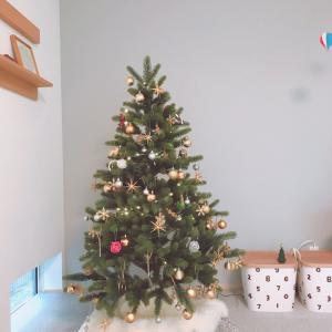 2020クリスマスツリー…無印良品でちょっとだけお買い物