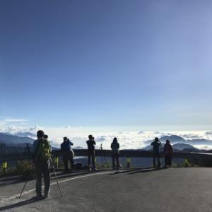 台湾で一番標高の高い道。そこからの景色は絶景でした。台湾の田舎をバイクで巡る旅15「台湾留学354日目」