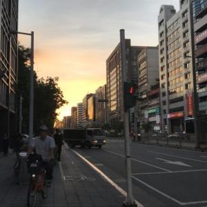 また交通事故に遭遇した話。「台湾留学360日目」