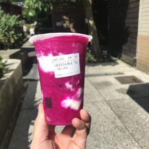 赤い飲み物。「台湾留学388日目」