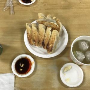 台北を満喫する一日。焼き餃子もね!「台湾留学664日目」