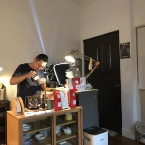 豪雨に打たれ、友達のカフェに行く。「台湾留学670〜677日目」